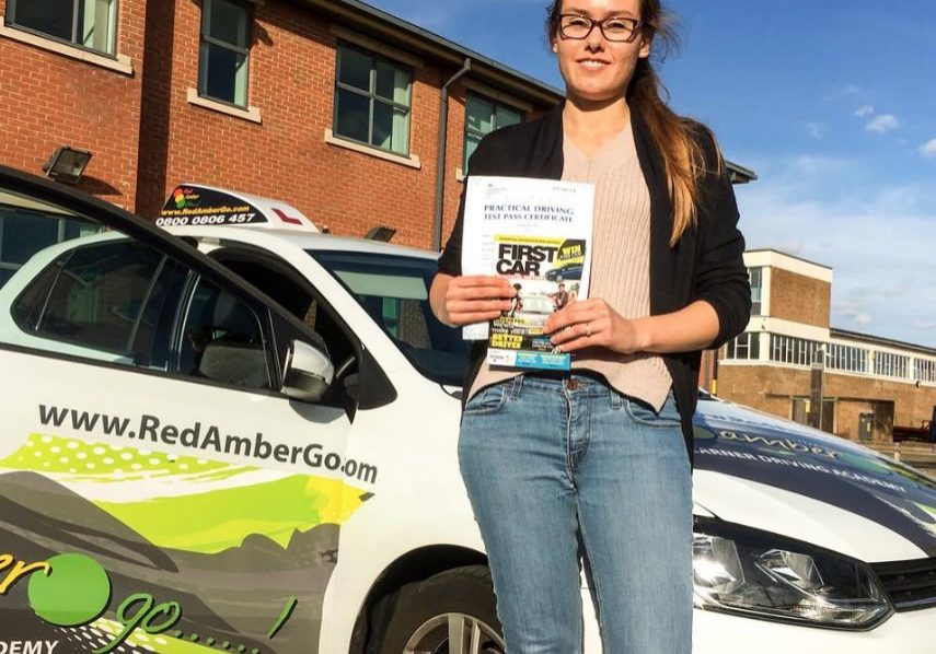 Red Amber Go Driving Test Pass